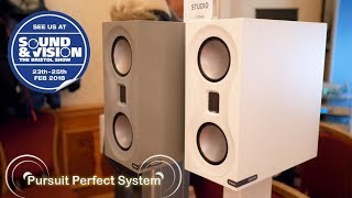 Monitor Audio NEW Studio HiFi Speakers Roksan Dac Turntable CD Player @ Bristol Sound & Vision 2018