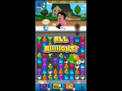 Family Guy Another Freakin Mobile Game Level 1088 - NO BOOSTERS