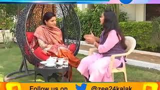 Rajrani with Loksabha MP Poonam Madam #ZEE24KALAK