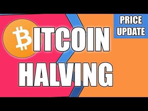 BITCOIN HALVING - BTC Price Update