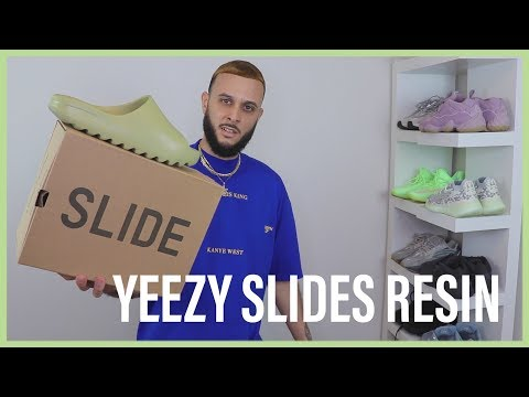 WATCH BEFORE YOU BUY YEEZY SLIDES RESIN
