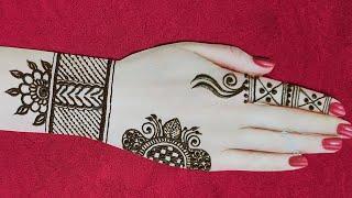 Navratri Special Mehndi Design