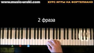 Урок 1. Курс фортепиано. Знакомство с клавиатурой