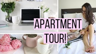 One of Life With Jess's most viewed videos: UPDATED APARTMENT TOUR! |Study With Jess Vlogs|