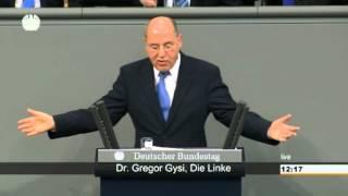 Gregor Gysi, DIE LINKE: »Unter Kohl war die Marktwirtschaft noch sozialer als heute«