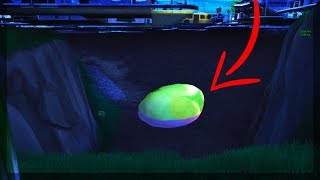 Fortnite - SECRET GLITCH AREA UNDER TILTED CONFIRMS COMET STRIKE (Tilted Towers Comet Evidence)