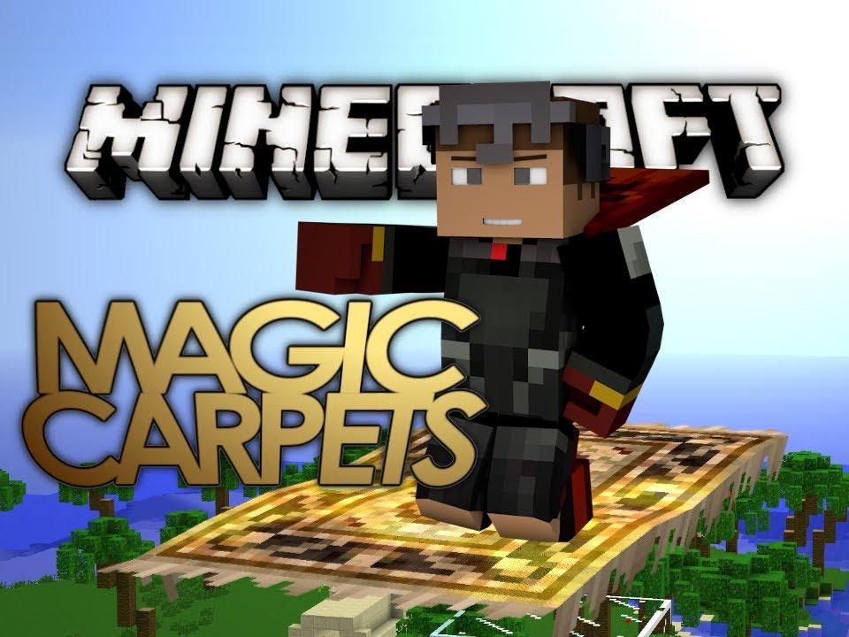 Minecraft Mods Magic Carpet Mod Ride Magic Carpets In