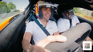 Freestyling with Carlos Sainz and A$AP Ferg! | The Pit Episode 1 | Complex