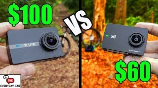 Yi Lite vs Yi Discovery! Yi Family BATTLE! Reviewing the Cheapest