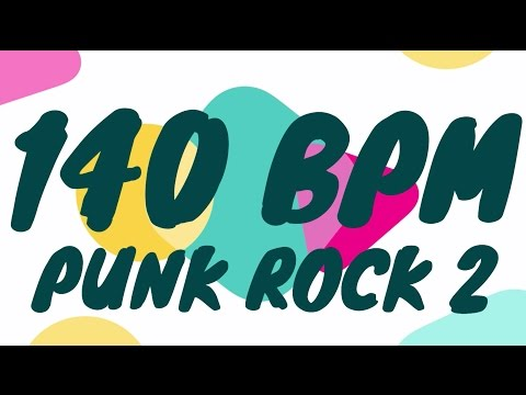 140 BPM - Punk Rock 2 - 4/4 Drum Track - Metronome - Drum Beat