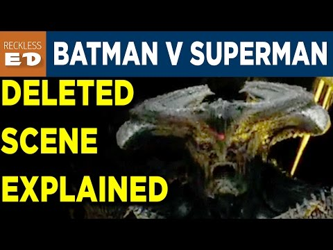 Batman V Superman DELETED SCENE EXPLAINED - Reckless Ed