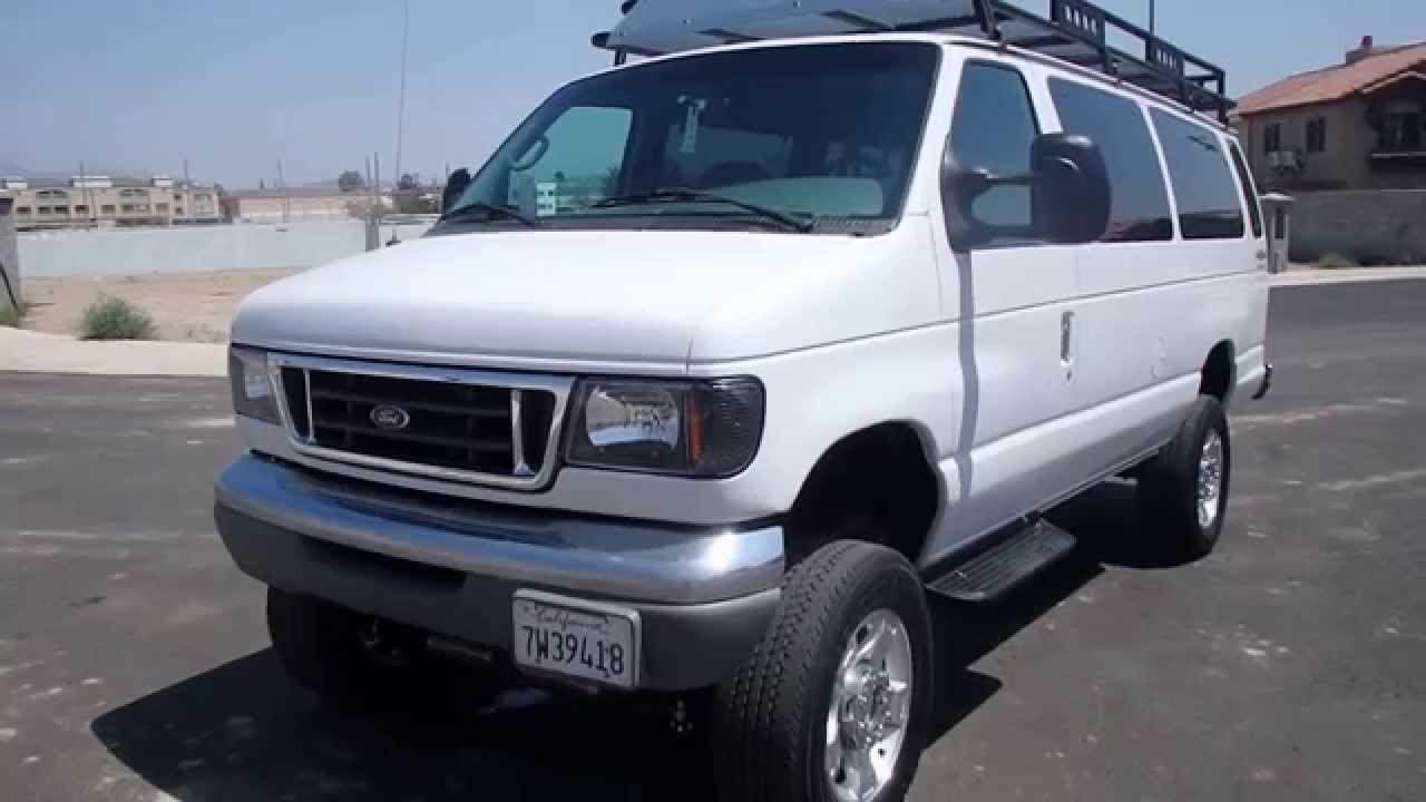 2001 ford e350 diesel van 4x4 7 3 powerstroke youtube. Black Bedroom Furniture Sets. Home Design Ideas