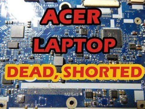 Acer laptop 4749z shorted, step by step to fix