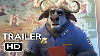 Zootopia Official Trailer #2 (2016) Jason Bateman Disney Animated Movie HD