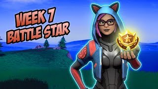 Season 8, Week 7 *SECRET* Battle Star Location! (Free Tier) - Fortnite Battle Royale