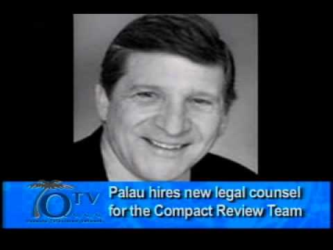Palau Hires New Legal Counsel For The Compact Review Team