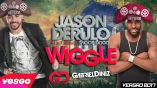 Jason Derulo Ft. Snoop Dogg Wiggle Wiggle - VERSÃO GABRIEL DINIZ - 2017