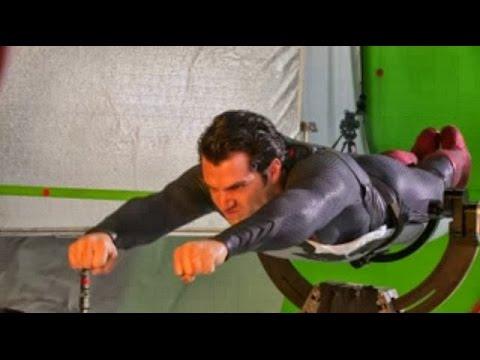Detras de camaras - Superman el hombre de acero