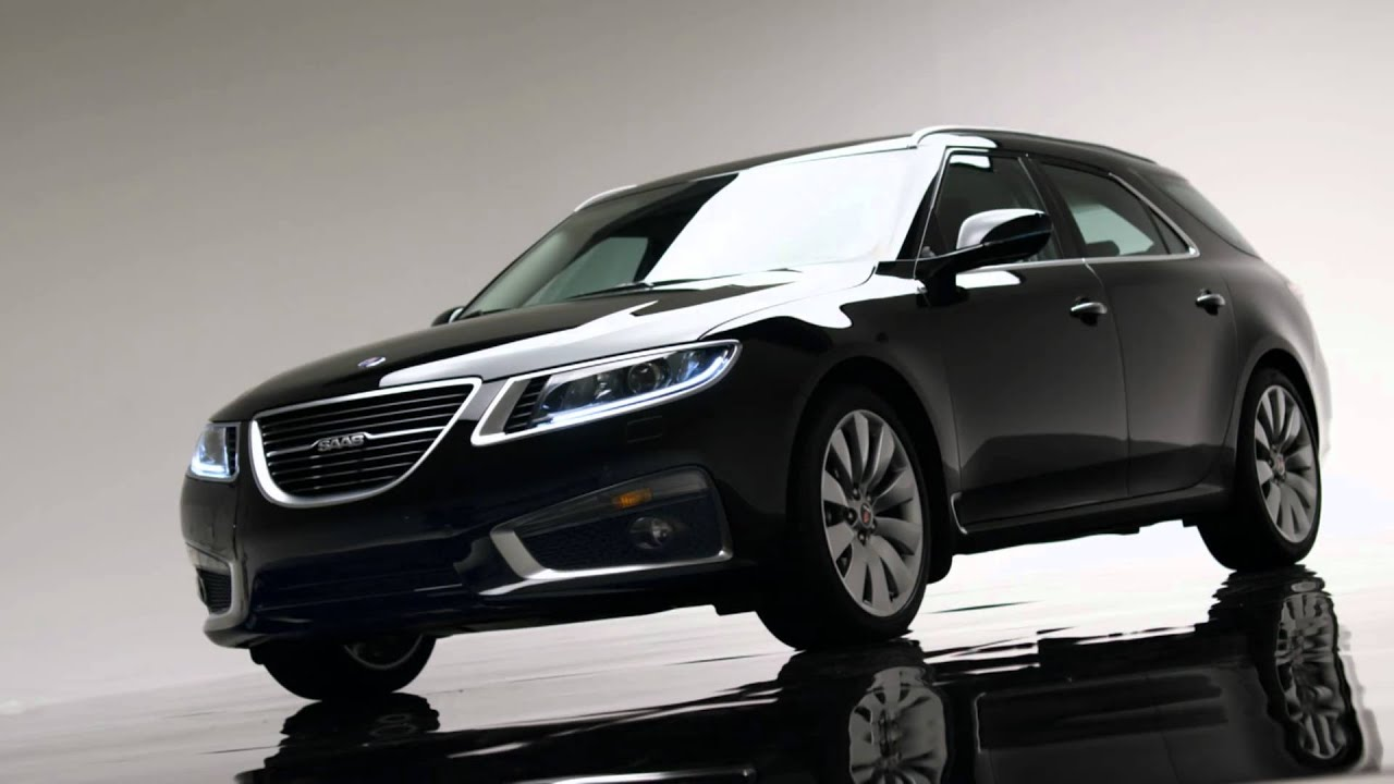 Presenting The All New Saab 9 5 SportCombi   YouTube