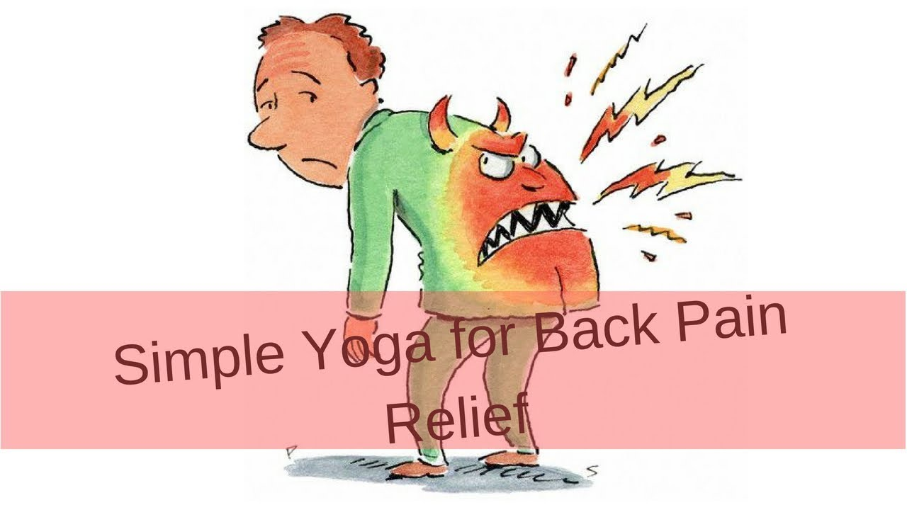 Simple Yoga For BackPain Relief