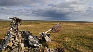 Эхо войны. Echo of war. Место авиакатастрофы военного самолёта времён ВОВ.