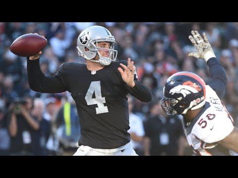 Oakland Raiders 24, Denver Broncos 16 - Derek Carr Commands Jon Gruden Offense