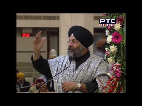 DSGMC President speech at Annual Gurmat Samagam by Sun Foundation in Gurudwara Bangla Sahib, Delhi
