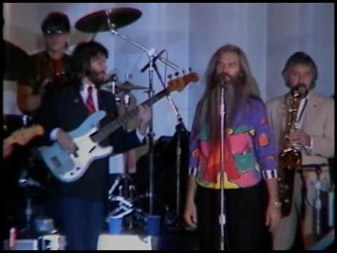The Reagan's watch the Performance by the Oak Ridge Boys on October 6, 1983
