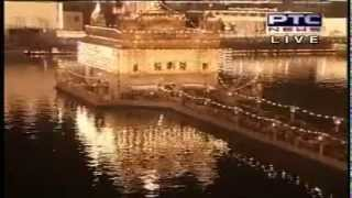 aarti at  Sri Harmandir sahib live gurbani kirtan on bandi chod divas (Diwali)