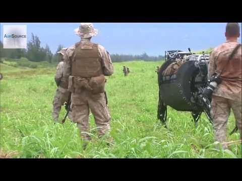 Робот Boston Dynamics в бою Озвучка много мата