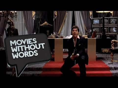 Scarface (8/8) Movies Without Words - Al Pacino Movie HD