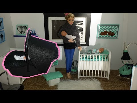 7 DIY Doll Baby Miniatures - Baby Swing,Baby Seat, etc