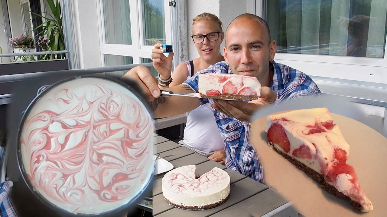 Erdbeer Mascarpone Sommerkuchen Ohne Backen Von Der Brigitte Youtube