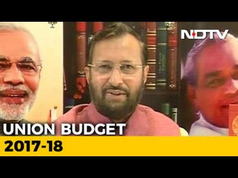 It's A Transformational Budget Of Transforming India: Prakash Javadekar