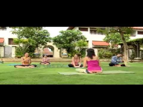 Happy Holiday - Yoga at Natah Saji Courtyard