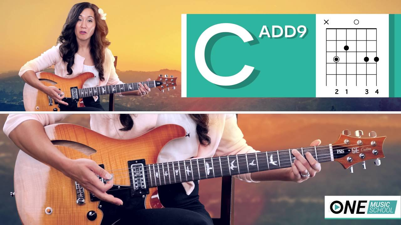 How To Play A Cadd9 Or C2 Chord On Guitar Youtube