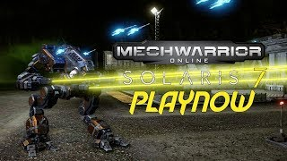 PlayNow: MechWarrior Online Solaris 7 | PC Gameplay
