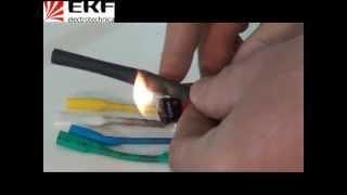 видео Термоусаживаемая трубка   Купить трубку термоусадочную Raychem в СПБ   ООО ТД БЭС
