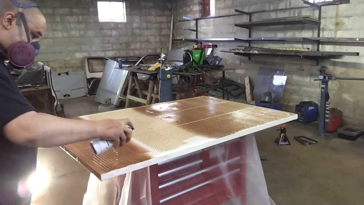 Custom Metal Work Bench/Shop Storage   Part 1   YouTube