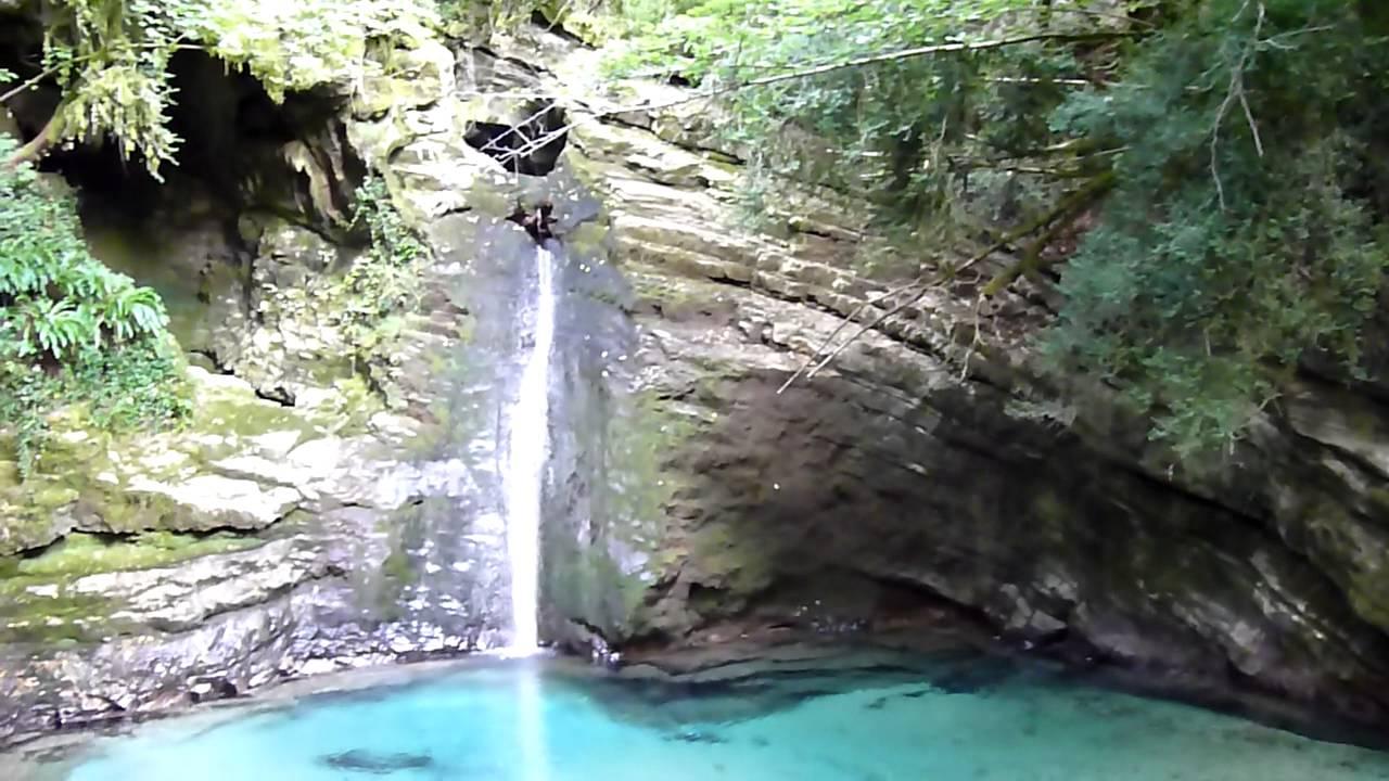 Trevi nel Lazio FR  Le cascate di Comunacque del fiume