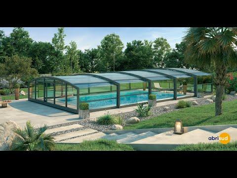 Les abris de piscine télescopiques by Abrisud