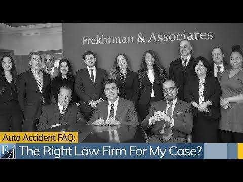 What Type Of Law Firm Is Right For My Personal Injury Case in New York?