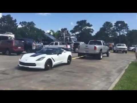 C7 Corvette Z06 Blocking Parking Lot Towed by Bystander   CorvetteForum