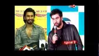 Ranveer Singh kicks out Ranbir Kapoor
