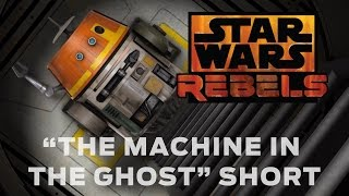 """In """"The Machine in the Ghost,"""" a special Star Wars Rebels short, the rebels' Ghost starship is under attack by a wave of TIE fighters. Hera pilots the craft, while ..."""