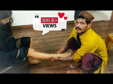 #ravimassage #footreflexology #coolmasseur  Indian Massage | Leg Massage By Ravi - in Manali | ASMR