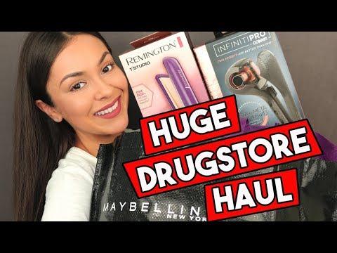 HUGE DRUGSTORE BEAUTY HAUL! - TrinaDuhra
