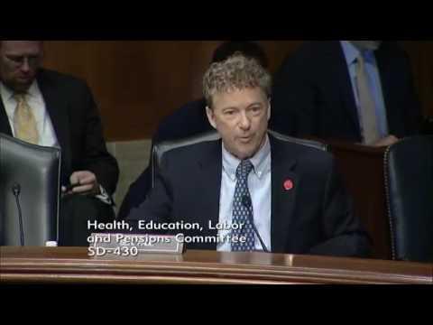 Rand Paul | Acosta Labor Secretary Nomination Hearing