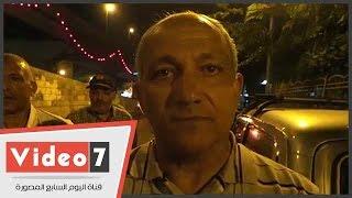 """بالفيديو.. رئيس حى حدائق القبة:وزعنا الأعلام وعلقنا """"الكهارب"""" احتفالا بالقناة الجديدة"""
