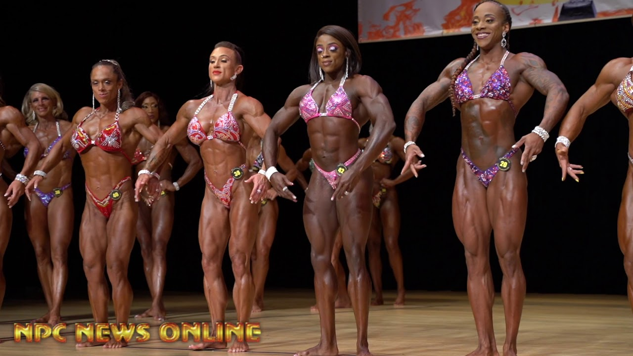 2019 IFBB Prestige Crystal Cup Women's Physique 1st Callout Prejudging